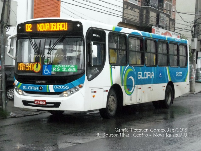 Expresso Nossa Senhora da Glória - 02055 / CAIO Apache Vip III SC MB OF-1519Linha: 02 - Nova Iguaçu x Parque São Francisco Km 32