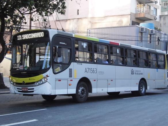 Uma das operadoras da 131, que será extinguida neste domingo (21) e substituída em parte pela 172 (Central x São Conrado). Foto: Gabriel P. Gomes